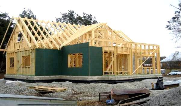 Як побудувати будинок з нуля покрокова інструкція відео