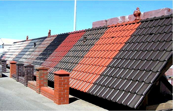 Покрівельні матеріали для даху види, як вибрати краще