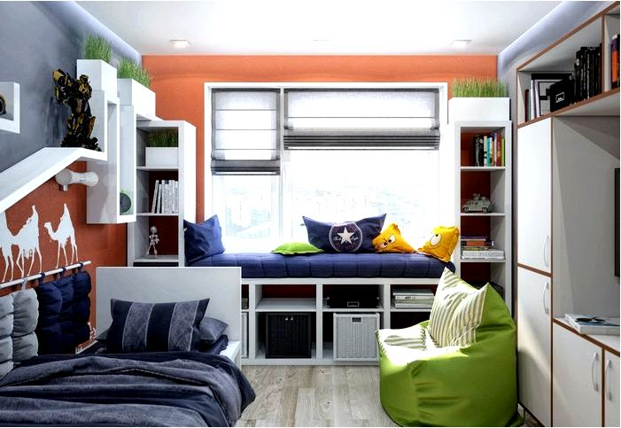 Как выбрать молодежную мебель? Обустройство подростковой комнаты