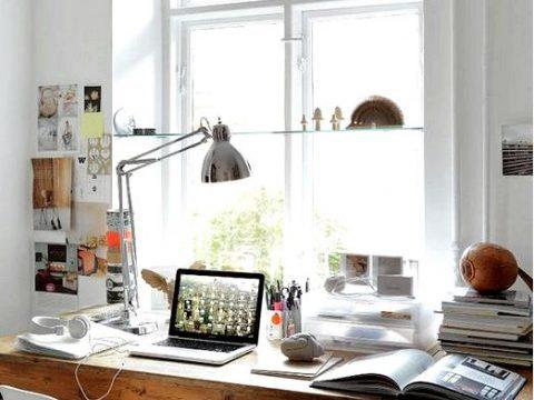 Как устроить домашний офис? Вдохновения
