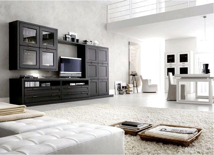Модульная мебель - образ современного интерьера