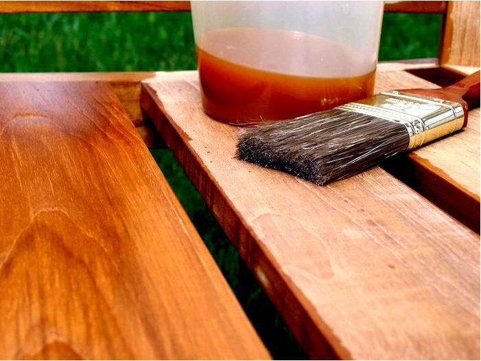 Пропитка деревянных внешних и внутренних элементов