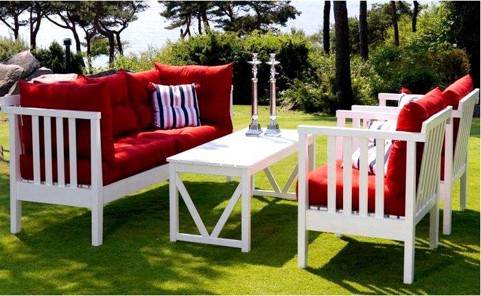 Садовая мебель - какую выбрать