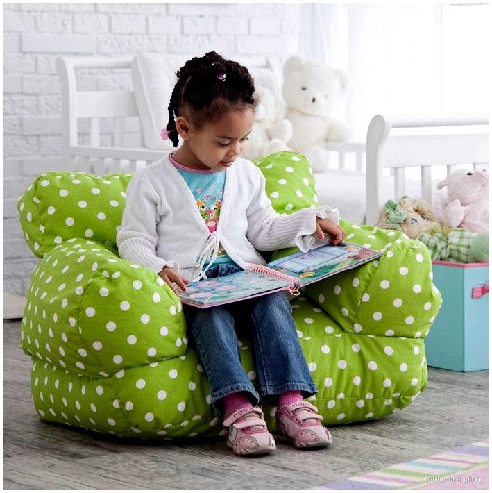 Что такое бескаркасная мебель?