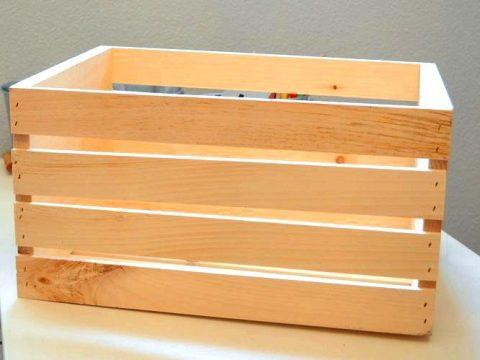 Преимущество деревянных ящиков для хранения овощей